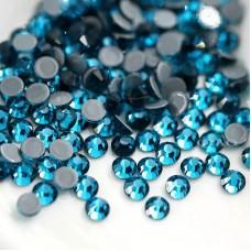 Термоклеевые стразы Blue Zircon